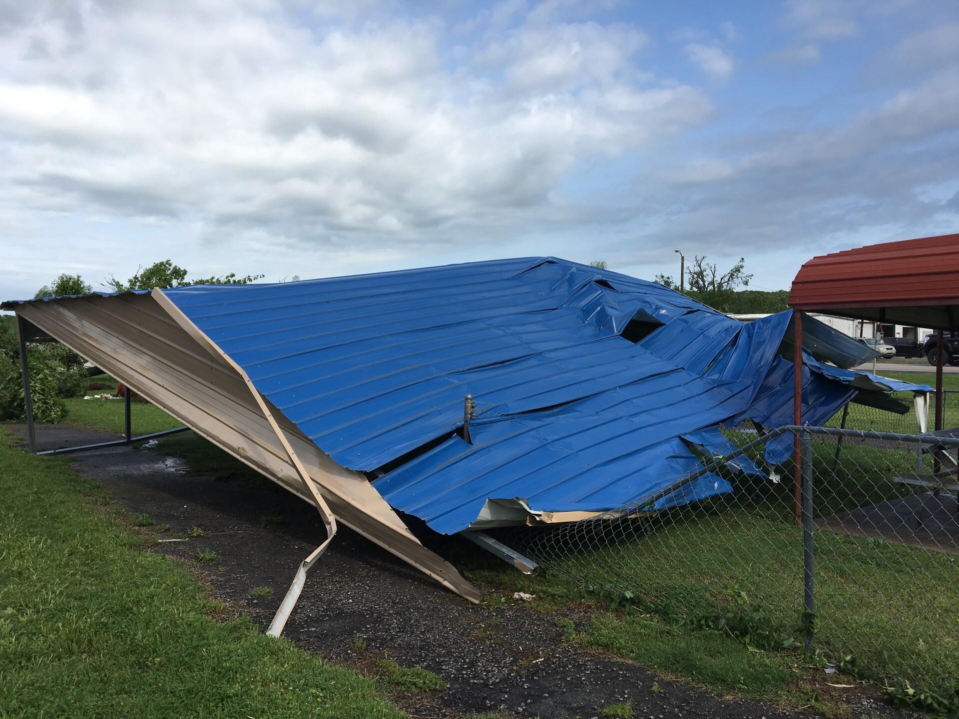 Haileyville tornado 2