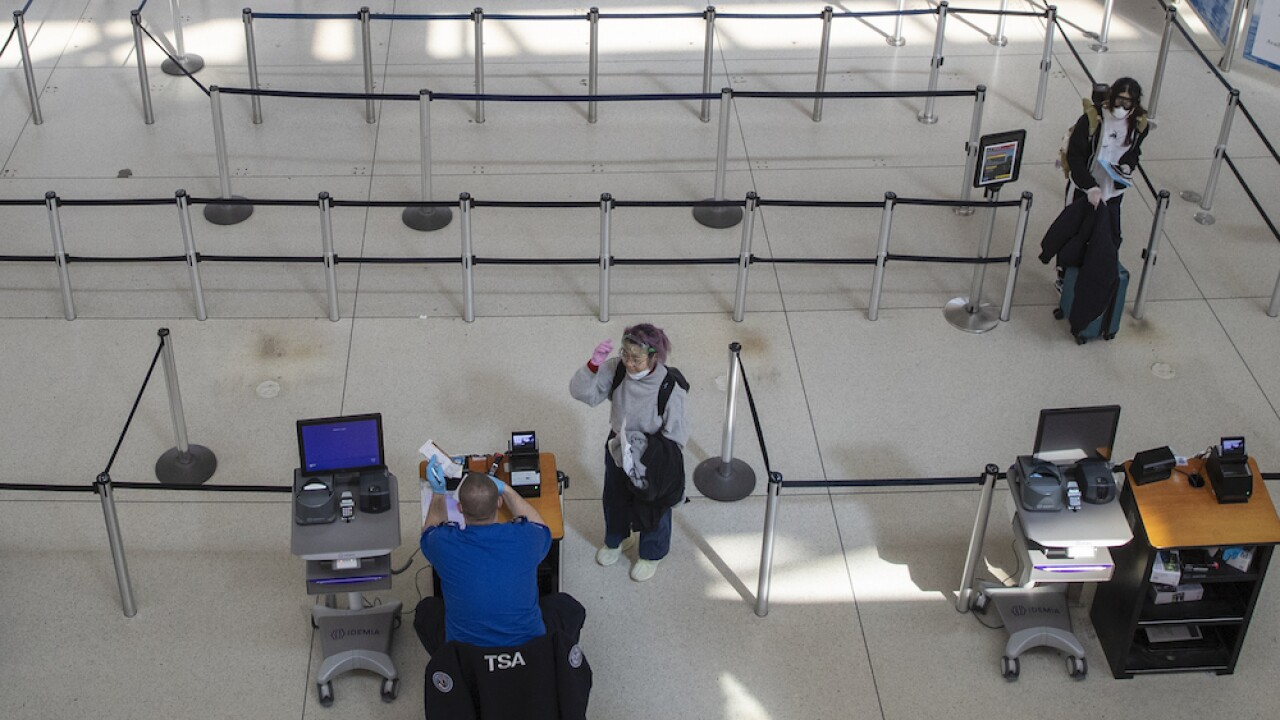 TSA says Monday was its slowest day in 10 years, highlighting just how few are flying during pandemic