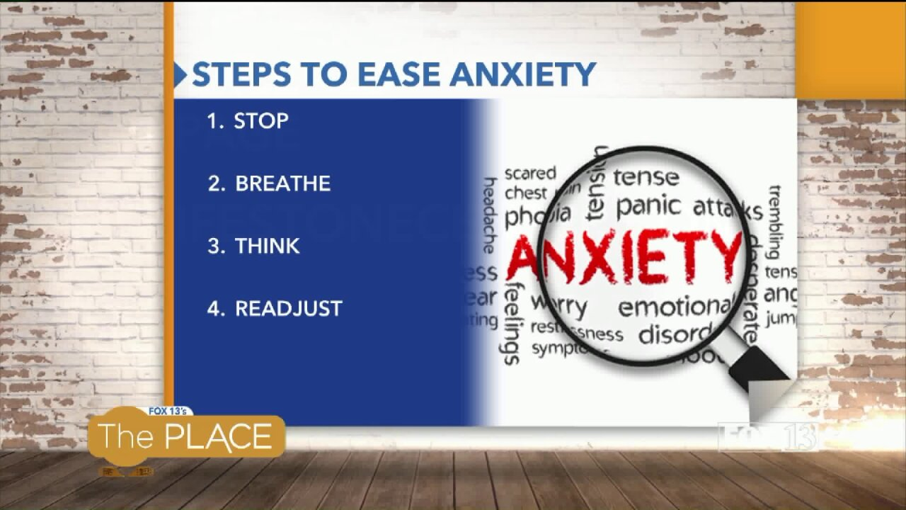 4 Steps to ease anxiety