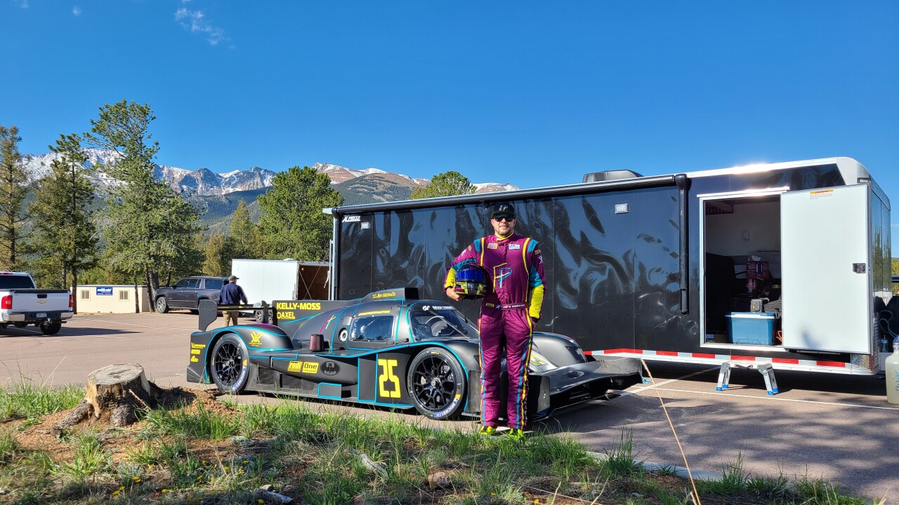 In the midst of a cancer battle, one man is fulfilling his dream the race up Pikes Peak