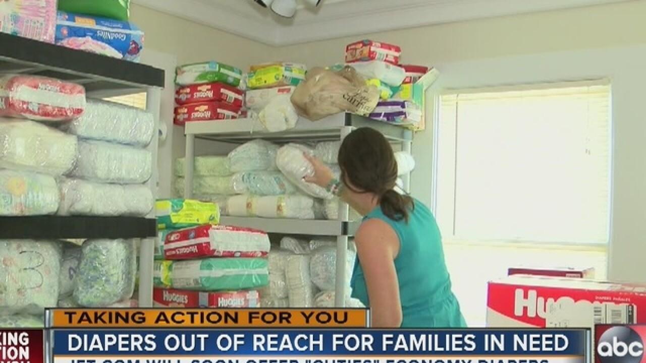 Major retailer launching effort to help diaper g