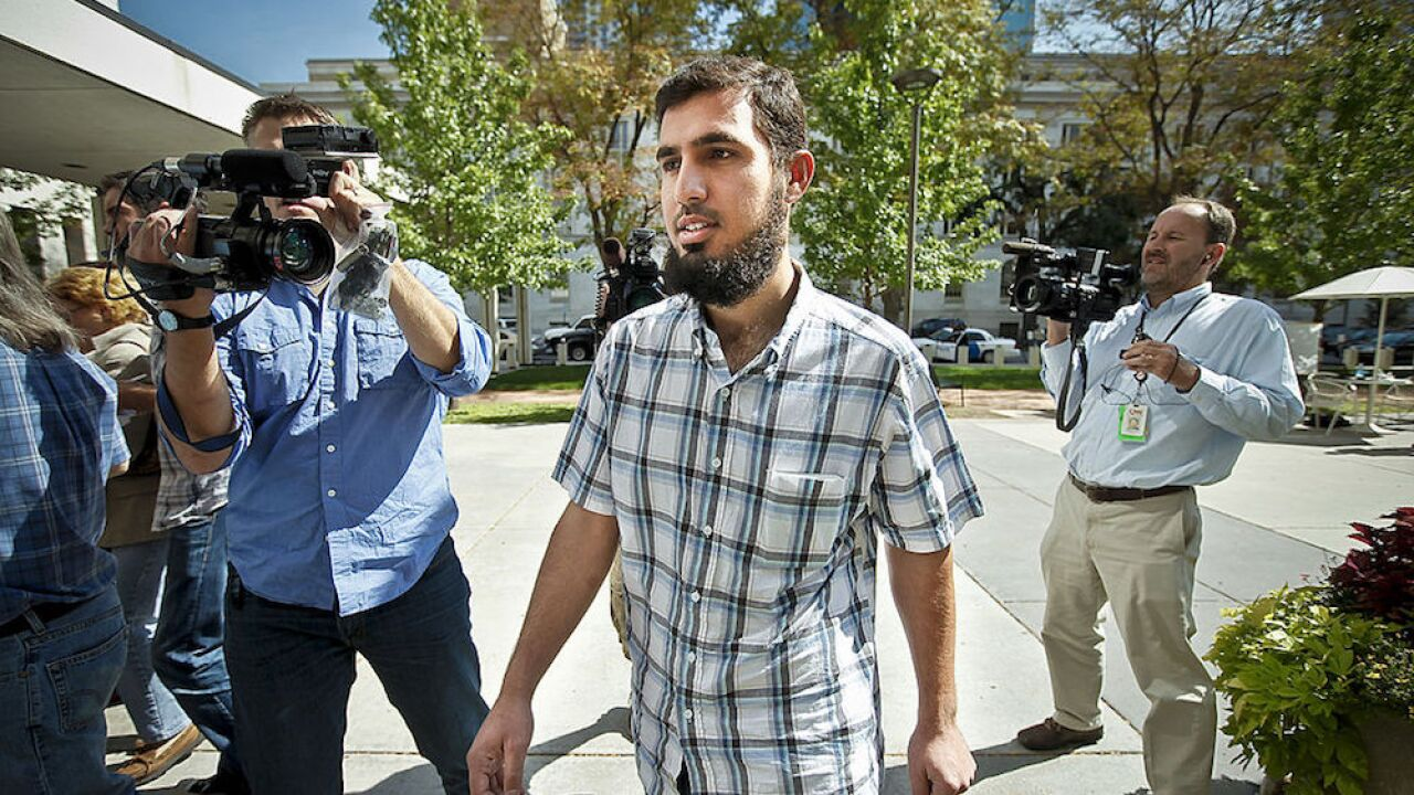 He plead guilty to planning a terrorist attack. After acting as a cooperating witness, he'll go free