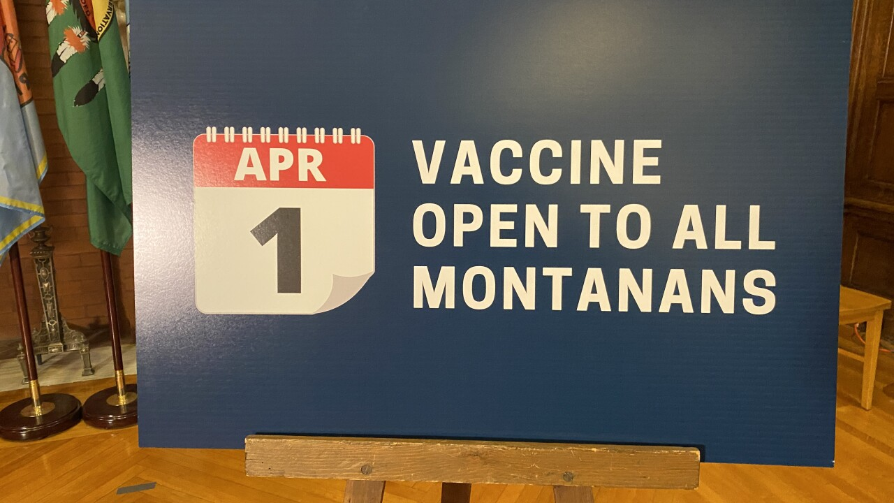 Vaccines Open April 1