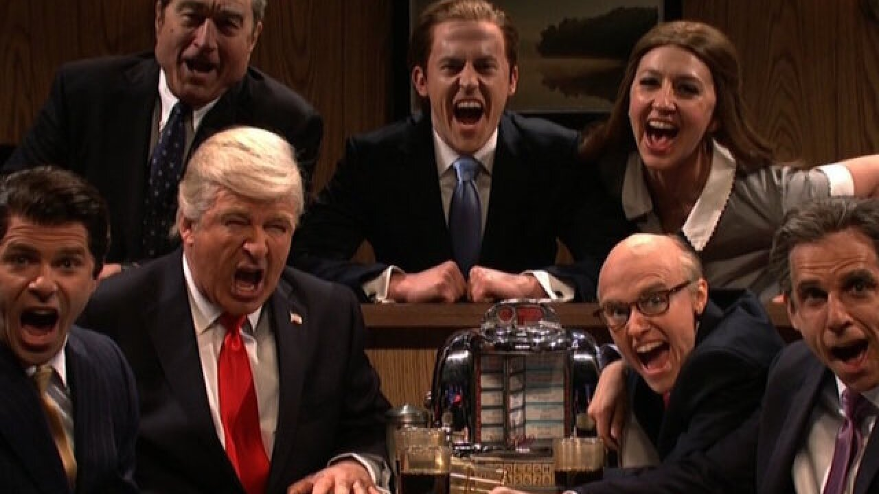 'SNL' turns Donald Trump into Tony Soprano for season finale