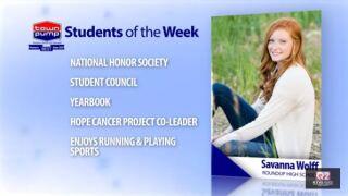 Students of the Week: Tristan Stigen and Savanna Wolff of Roundup High School