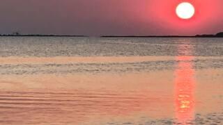 Ingleside on the Bay sunset - Photo By: FB Coastal Bend Weather Watcher Julie Wilson