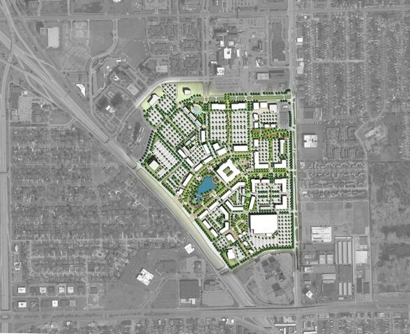 Southfield envisions Northland Center as Mixed-Use Campus with luxury condos