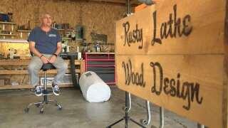 Montana Made: Rusty Lathe Wood Design