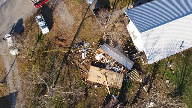 Photos: Drone Footage Captures Wilson County Damage