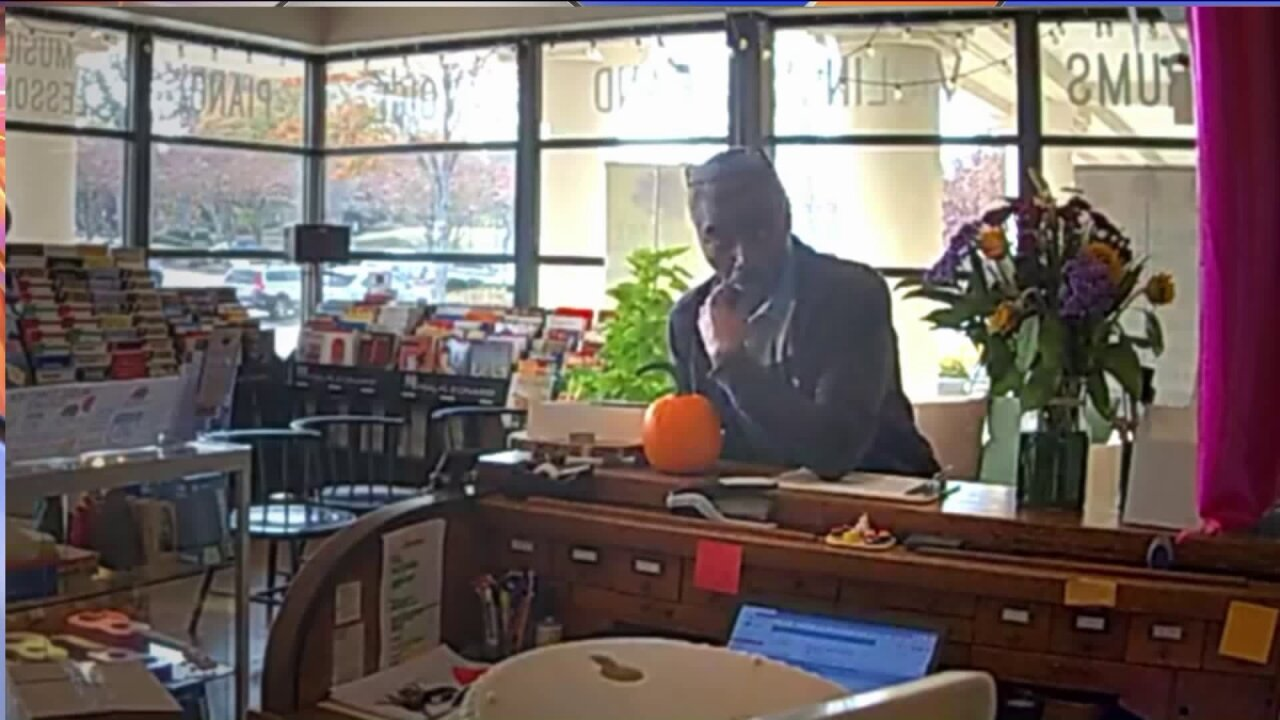 Police seek to identify man seen stealing from Richmond music store