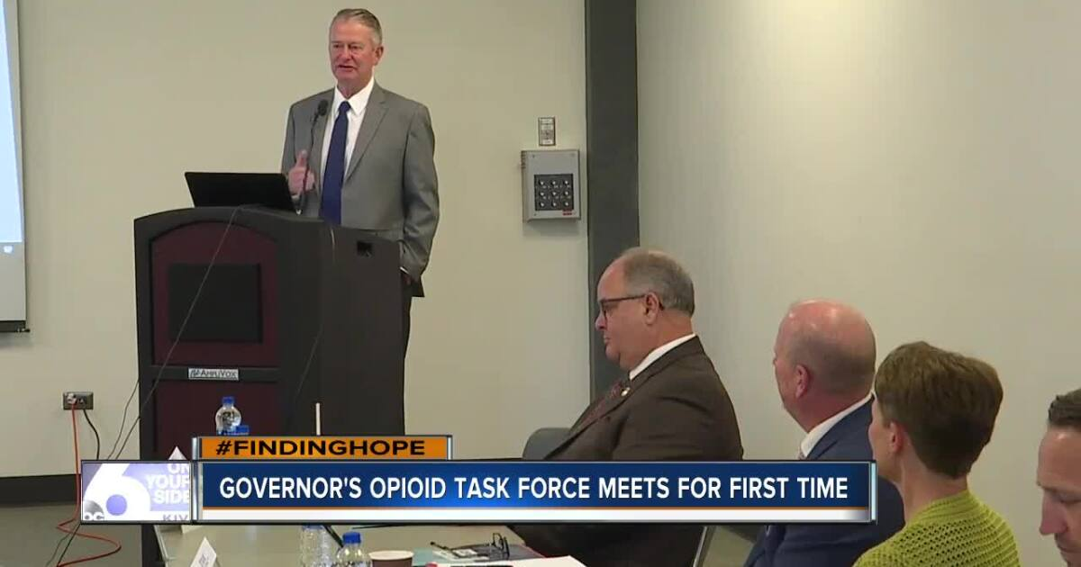 Governor's Opioid Task Force meets for the first time