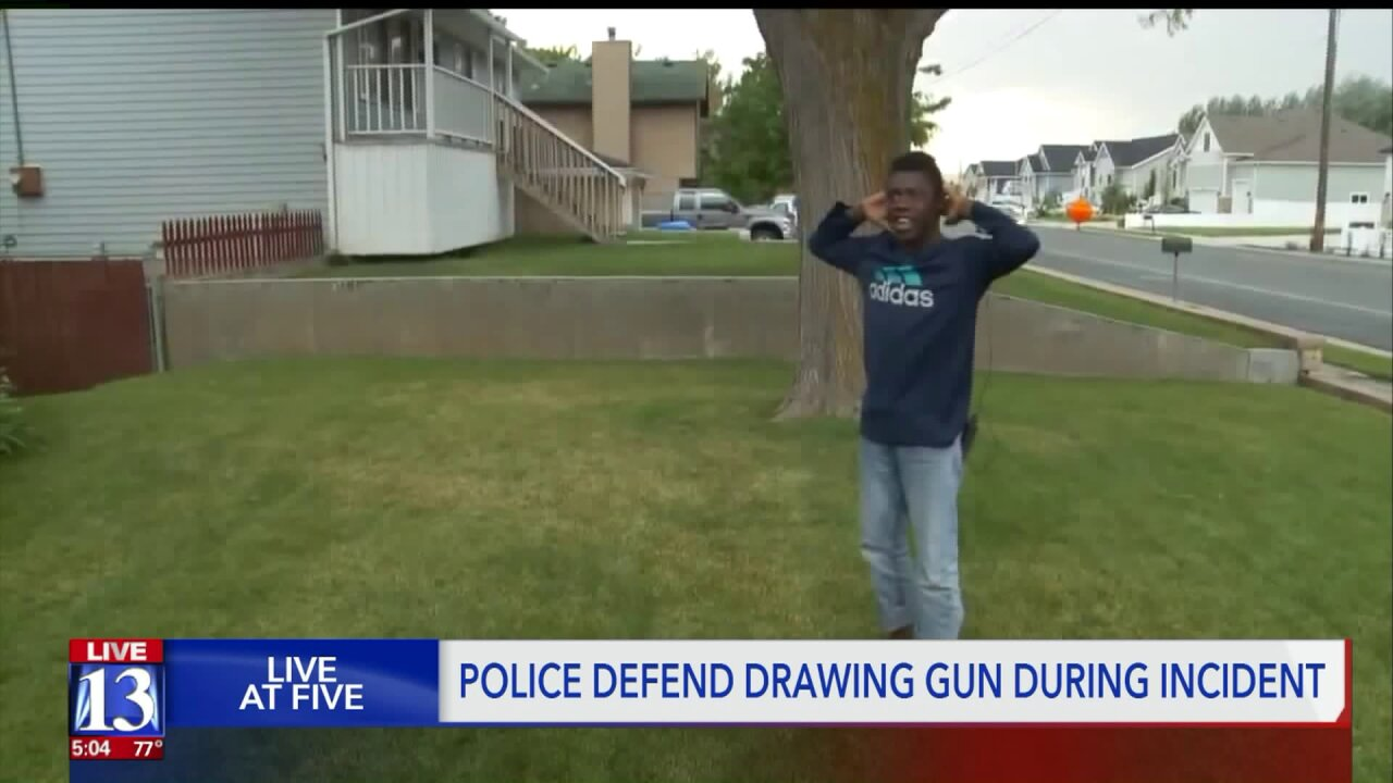 Woods Cross Police: officer pointed gun at 10-year-old because he matched suspect description, didn'tcomply