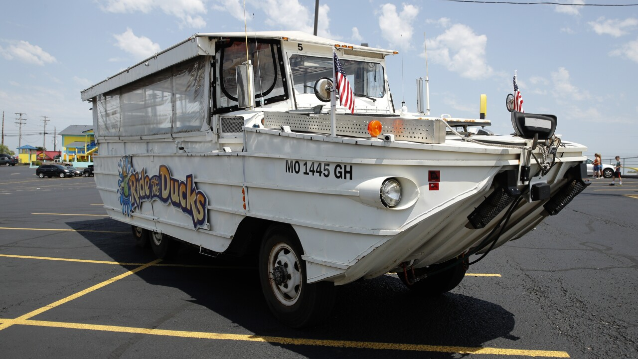 NTSB: Canopies, side curtains should be removed from duck boats following tragic sinking