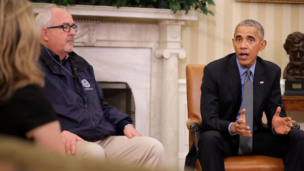 President Obama urges Georgia to pay attention to Hurricane Matthew warnings
