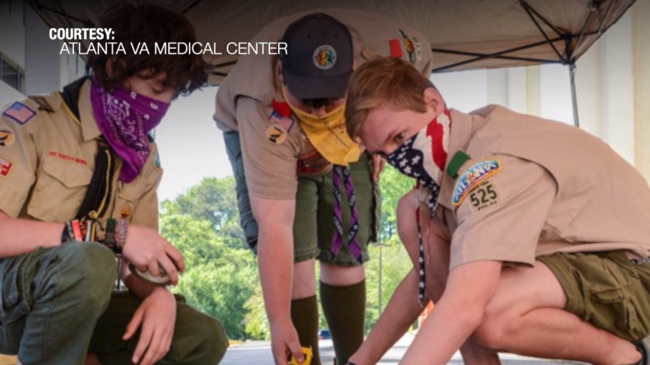Boy Scouts of America stays active from a distance