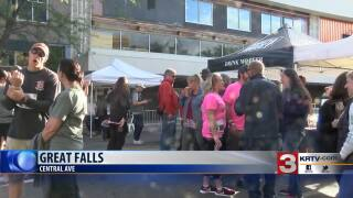 "Mighty Mo hosted annual ""Motoberfest"" in downtown Great Falls"