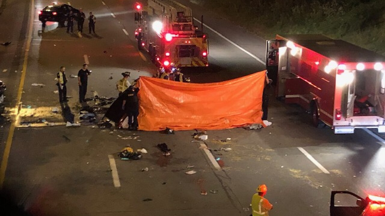 3 people killed in a wrong-way crash on I-90 eastbound near