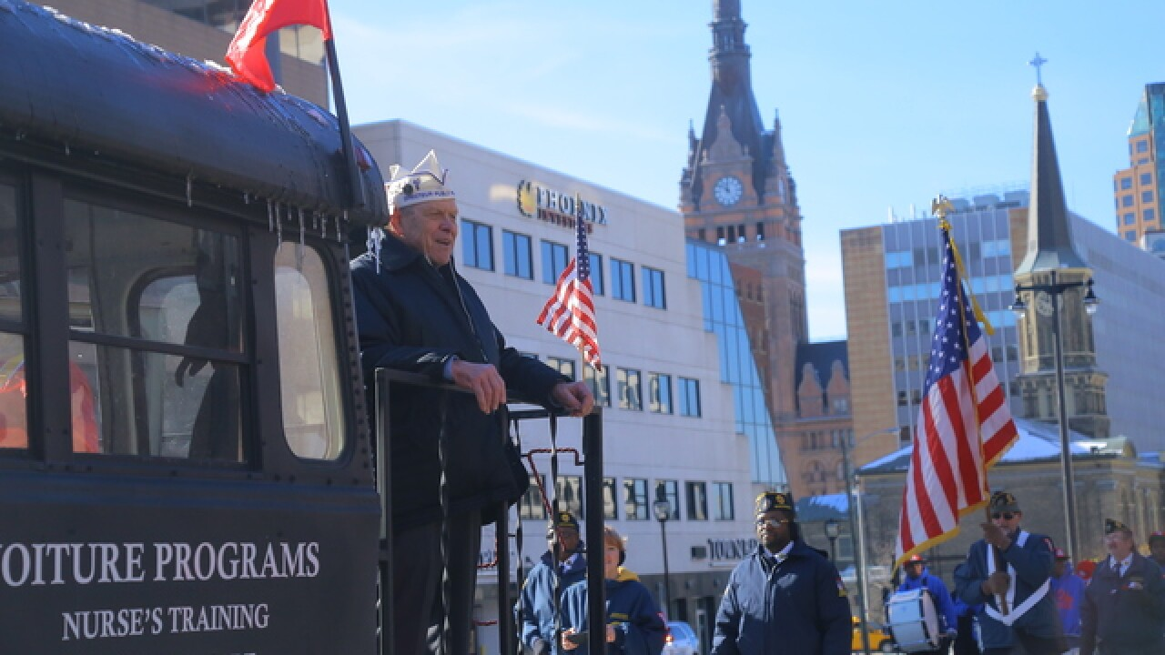 Veterans Day Parade 2018 [PHOTOS]