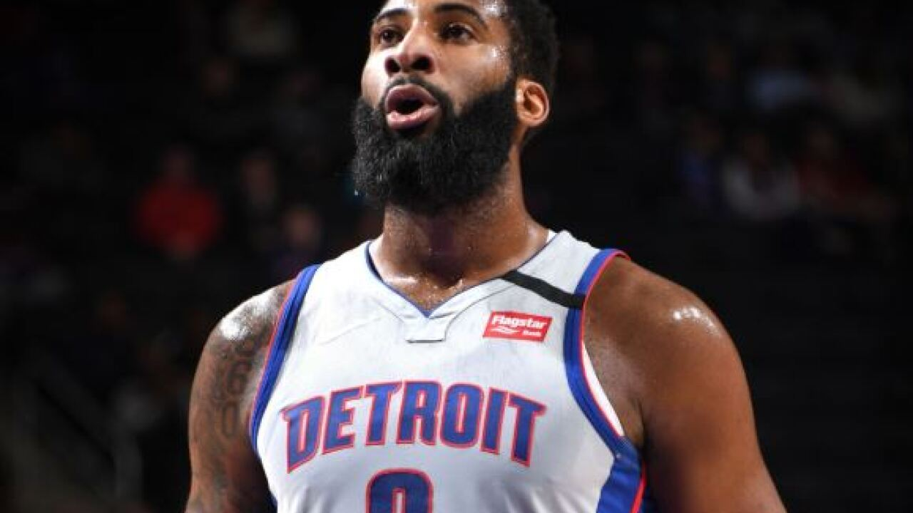 Andre Drummond sits late in Pistons OT loss to Pelicans