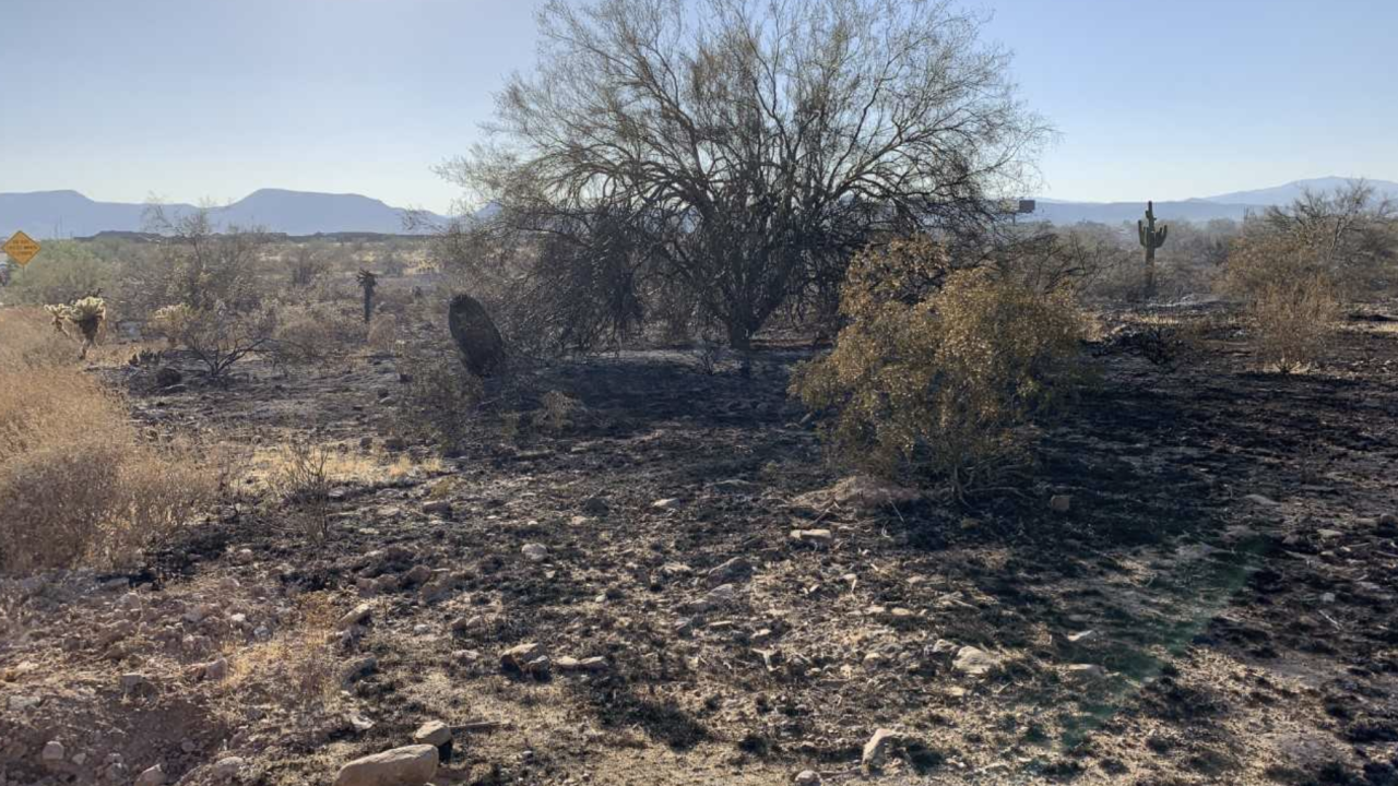 Brush Fire In Anthem Area Stopped Burned 20 25 Acres