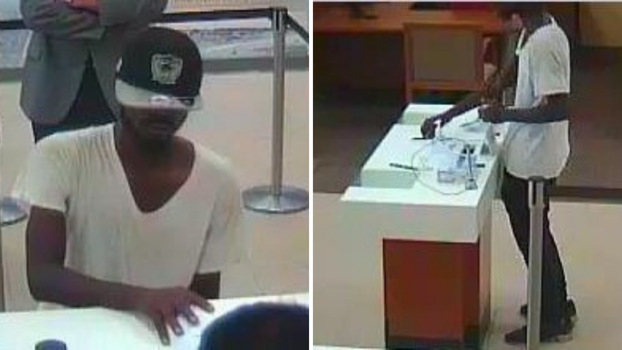 Police searching for man who robbed Norfolk Wells Fargo