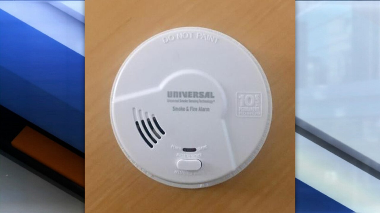 Smoke alarms being recalled due to risk of failure to alert consumers to a fire