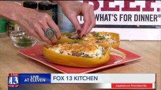 Recipe: Beef and Spaghetti Squash 'Boats'