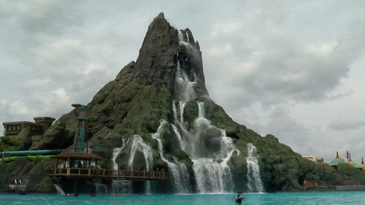 Universal Orlando's Volcano Bay is splashing fun