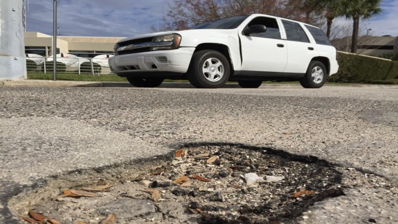 MAP: Tampa's pothole-damaged streets