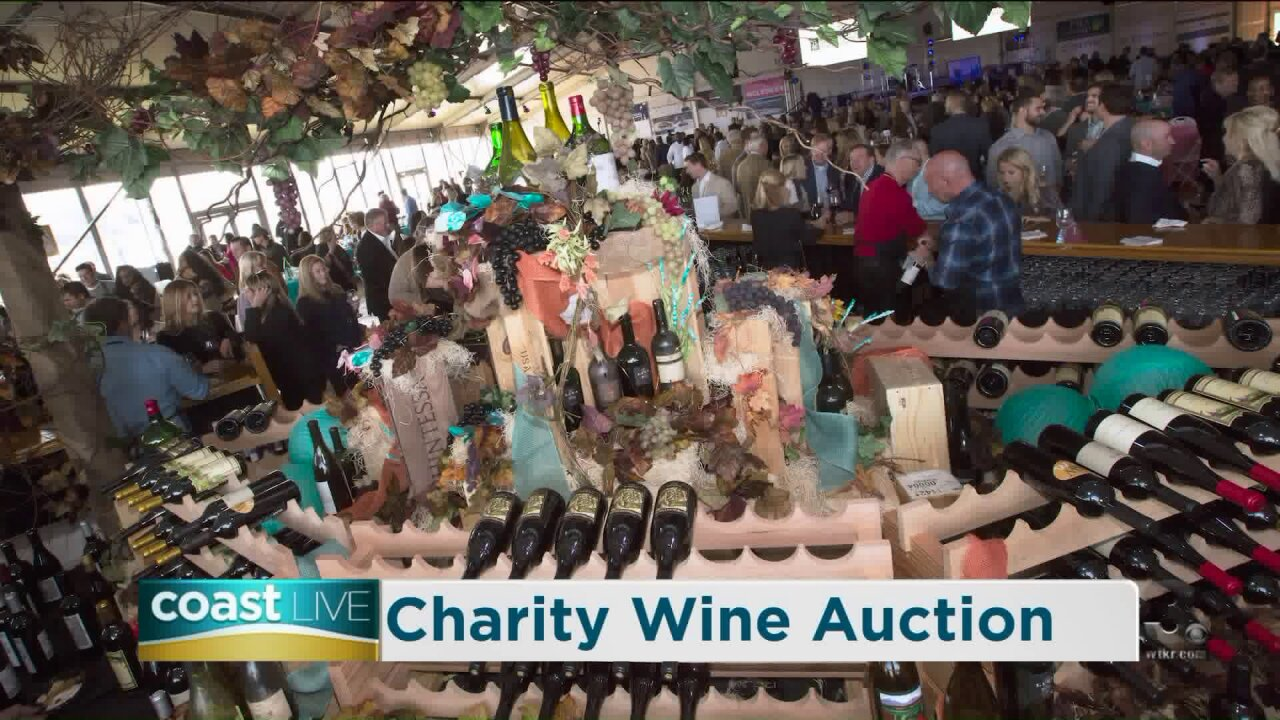 Samples from the Chesapeake Bay Wine Classic Grand Auction on CoastLive