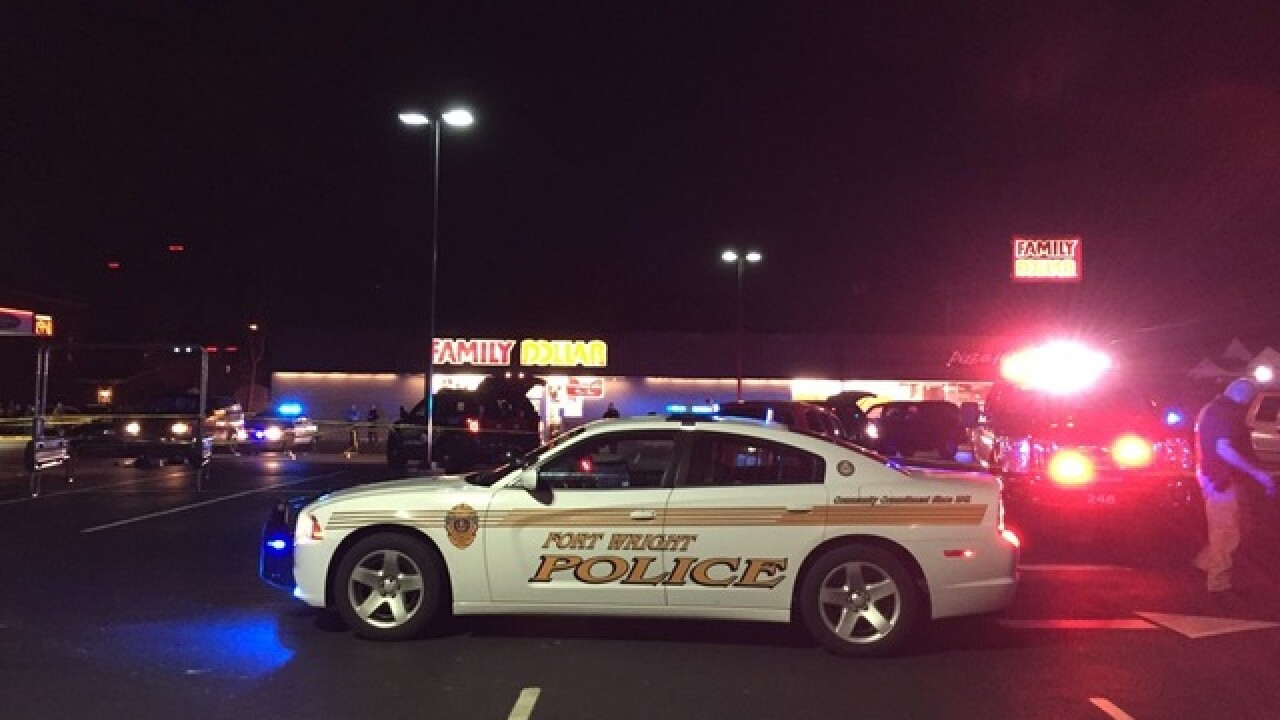 Shooting reported at Ludlow shopping center