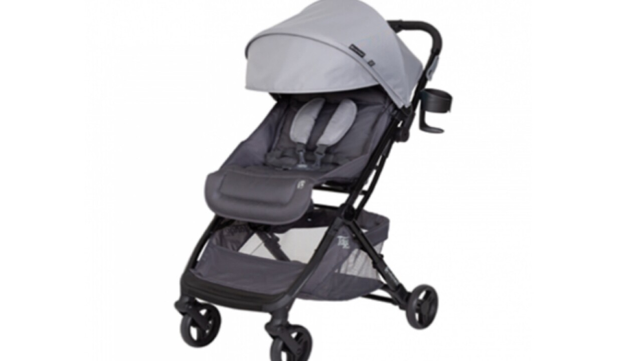 Strollers recalled because kids can fall out of them