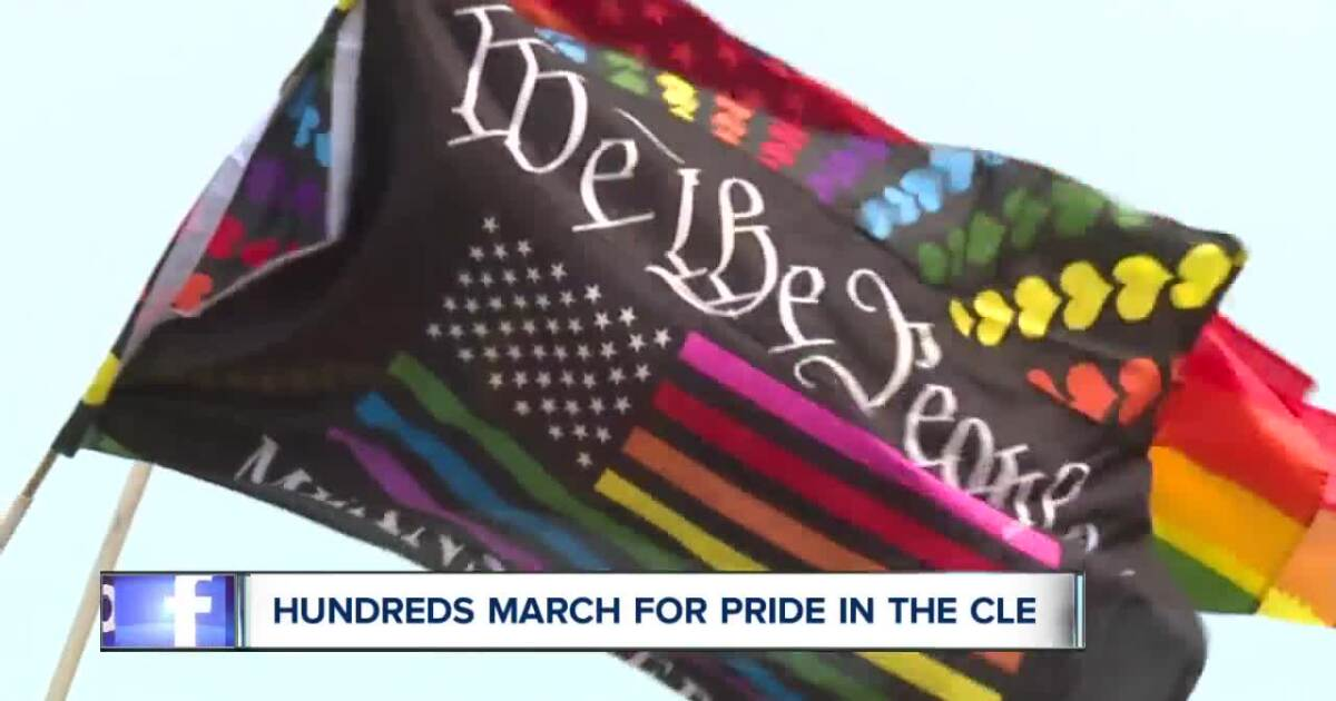 Hundreds march for Pride in the CLE