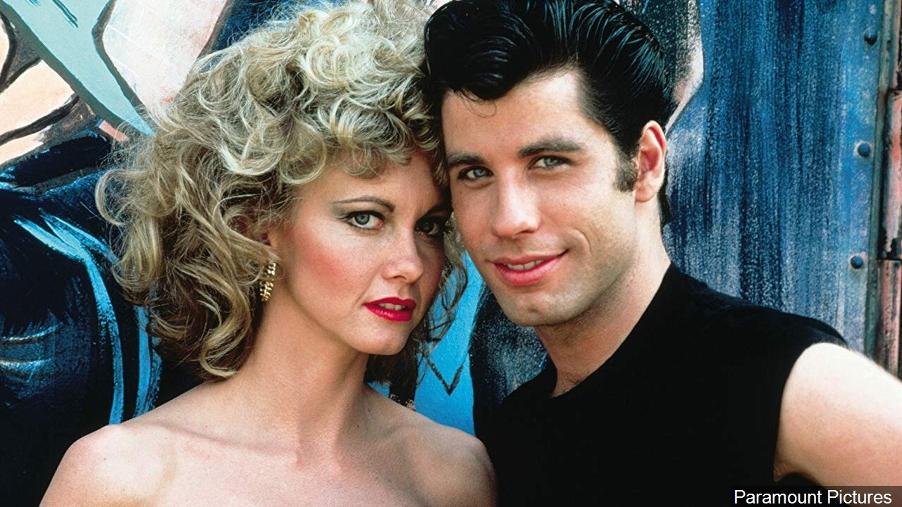 John Travolta and Olivia Newton-John in Grease.jpg