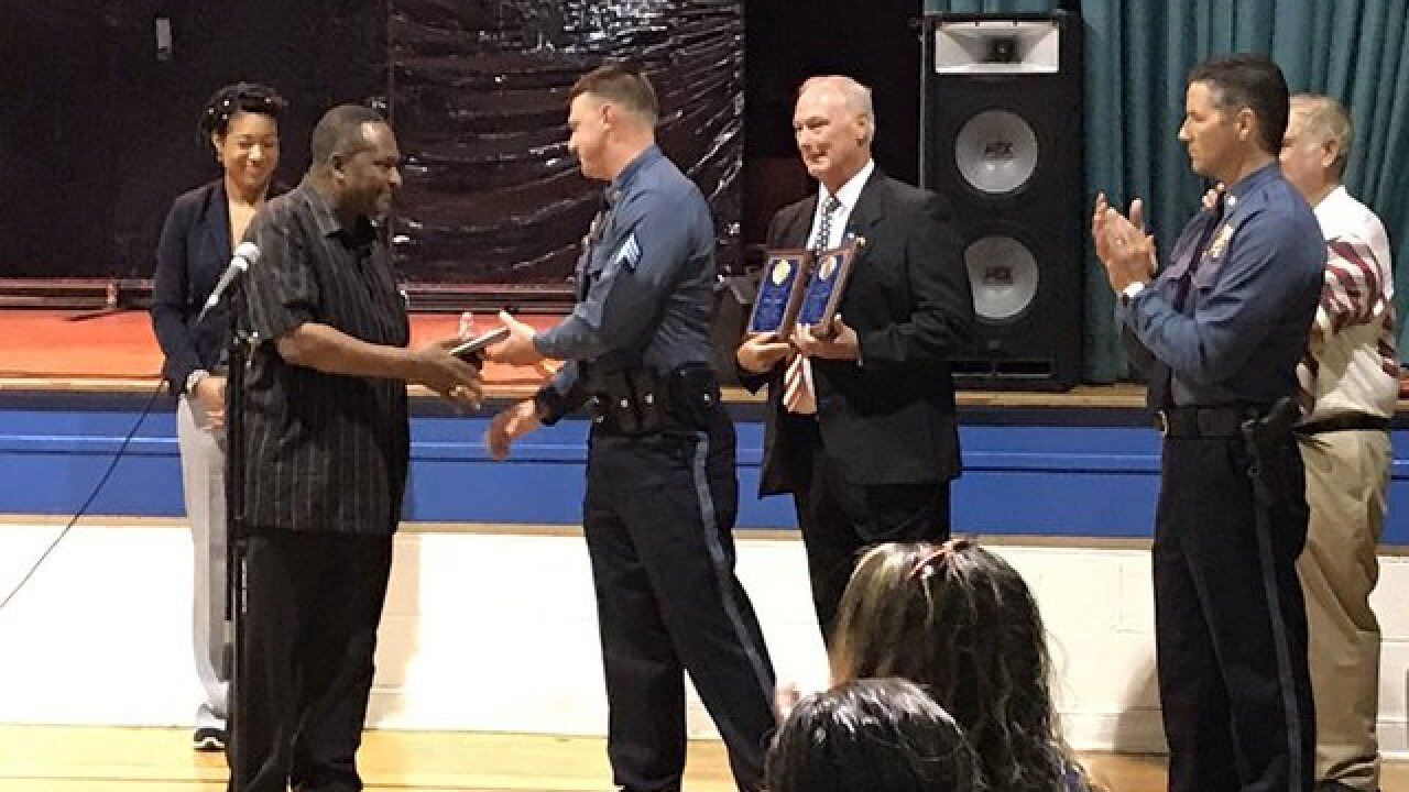 Awards for police set example for youth in KC
