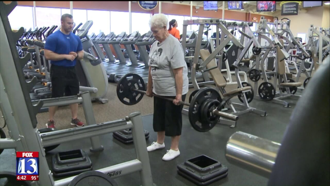 Booming Forward: It's never too late to start, 78-year-old weightlifting champ says