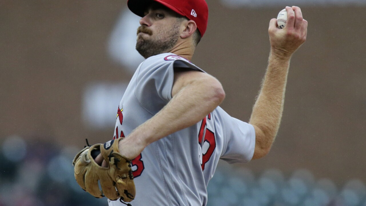 John Gant keeps Tigers' bats quiet, Cardinals come alive in win