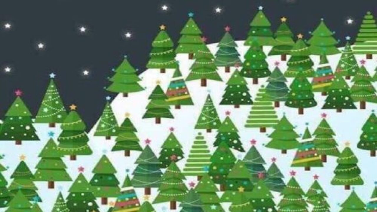See How Long It Takes You To Solve This Christmas Tree Brain Teaser