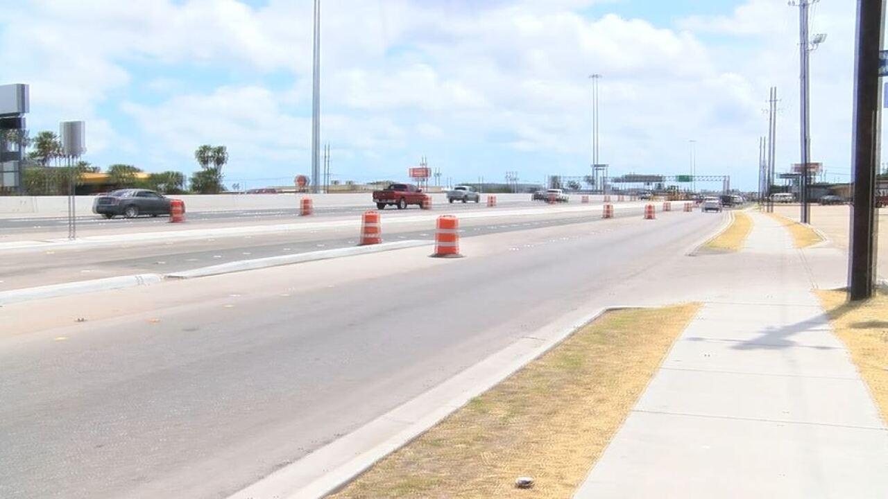 New Kostoryz/ Carroll exit ramp opens
