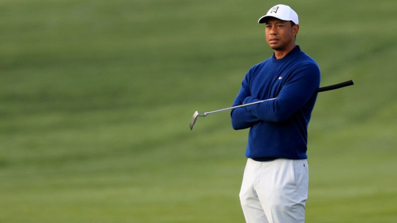 Tiger Woods 2020 Farmers Insurance Open ProAm