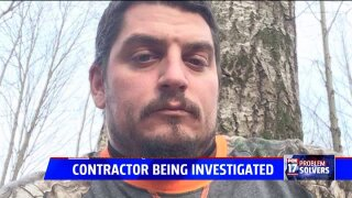 Contractor under investigation by Ottawa County Sheriff's Office