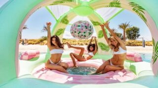 This Fun Float Will Turn Your Beach Days Into Disco Parties