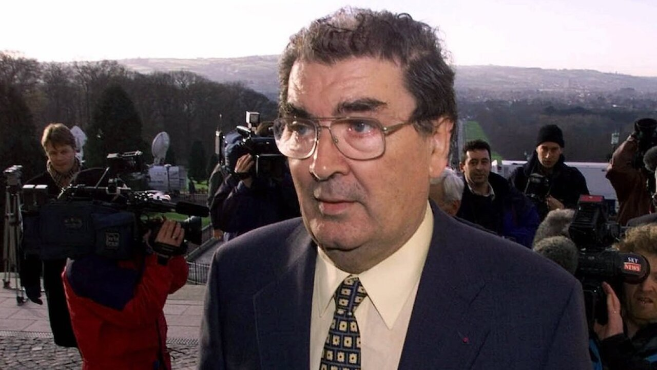John Hume, man who won Nobel Prize for work to end violence in Northern Ireland, dead at 83