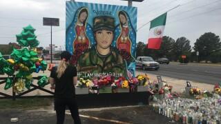 Artist paints mural of Vanessa Guillen near tattoo shop in Killeen