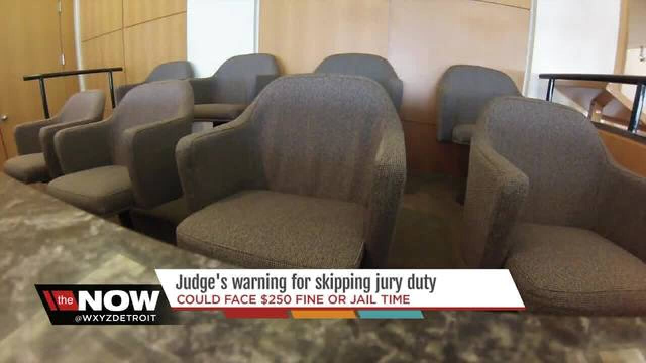 Wayne County residents threatened with jail time for