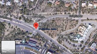 Turning restrictions at Skyline and Sunrise begin Monday, as the contractor for Pima County DOT begins paving operations to make the intersection less dangerous for westbound vehicles and cyclists to merge.