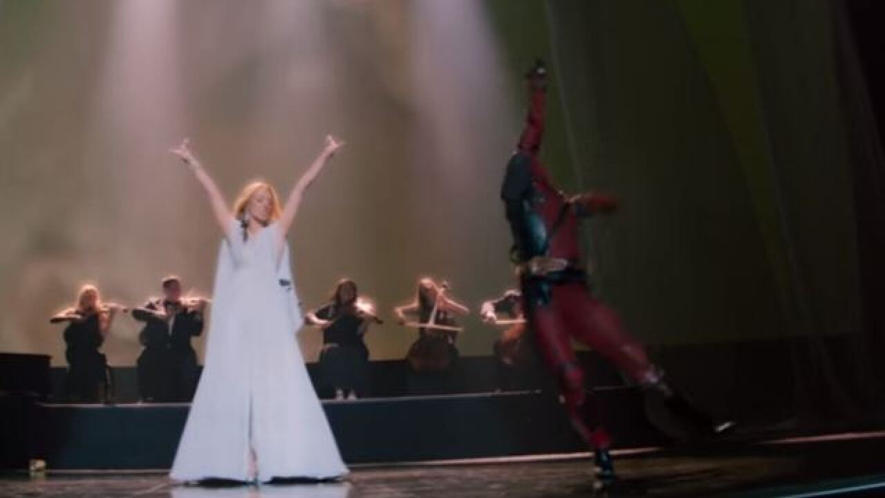 Deadpool dances in new Celine Dion music video