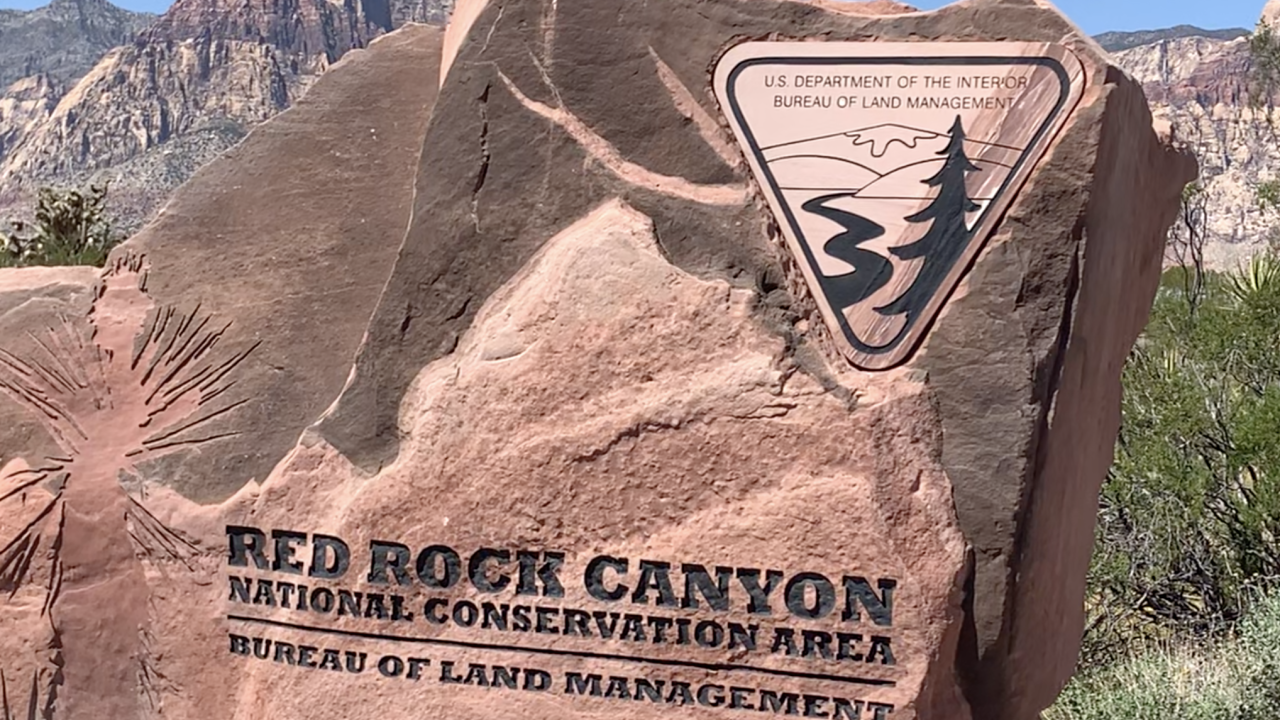 Red Rock Canyon welcome rock.png