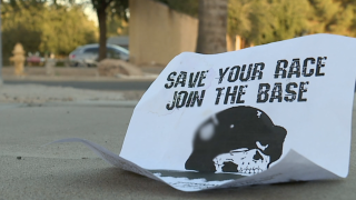 White supremacist flyer found in Phoenix