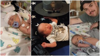 Newborn son of MHP trooper and wife hospitalized